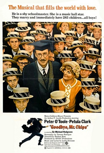 GOODBYE MR CHIPS FILM POSTER