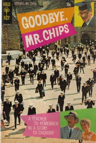 GOODBYE MR CHIPS GOLD KEY(1970)