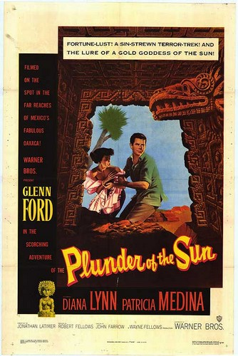 PLUNDER OF THE SUN FILM POSTER 2