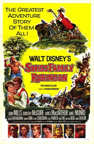 SWISS FAMILY ROBINSON FILM POSTER