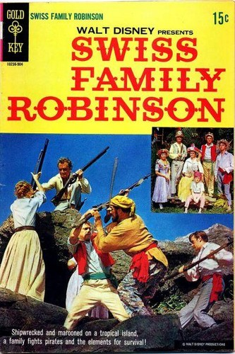 SWISS FAMILY ROBINSON GOLD KEY(1969)