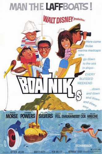 THE BOATNIKS FILM POSTER