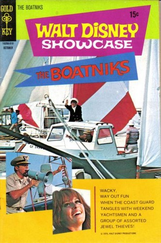 THE BOATNIKS GOLD KEY(1970)