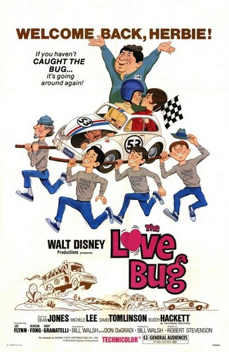 THE LOVE BUG FILM POSTER