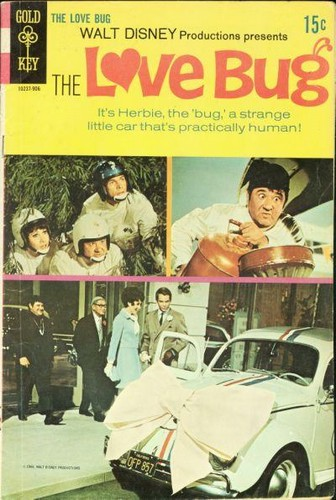 THE LOVE BUG GOLD KEY(1969)