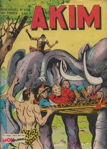 AKIM 113 COVER FRANCE
