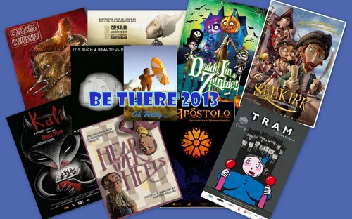BE THERE FESTIVAL 2013 CT COLLAGE FILM POSTERS