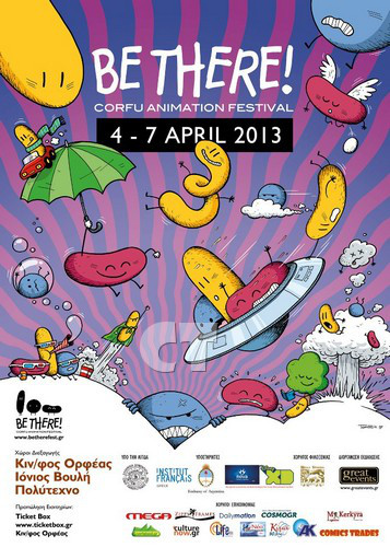BE THERE FESTIVAL POSTER 2013 CT