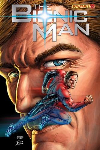 BIONIC MAN 17 COVER