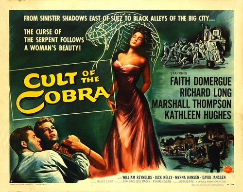 THE CULT OF COBRA FILM POSTER 4