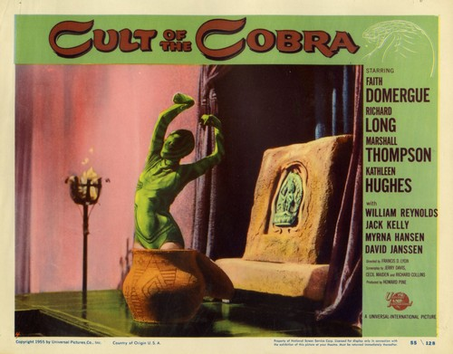 THE CULT OF COBRA LOBBY CARD 7