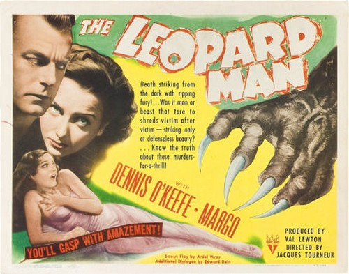 THE LEOPARD MAN FILM POSTER 4