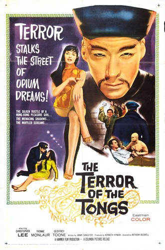 THE TERROR OF THE TONGS FILM POSTER 2