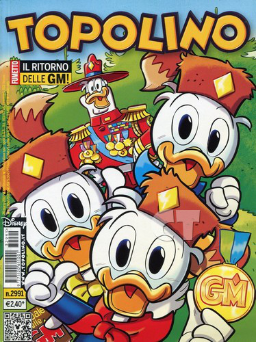 TOPOLINO 2991 COVER CT