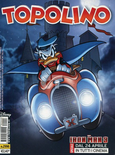 TOPOLINO 2996 COVER CT