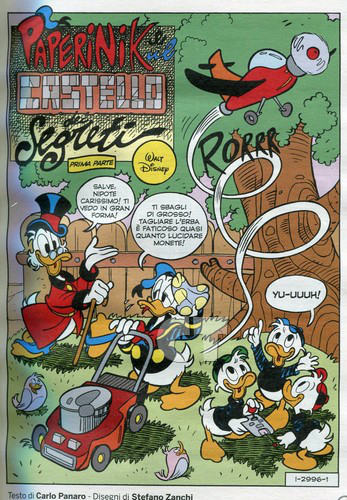 TOPOLINO 2996 INSIDE 1 CT