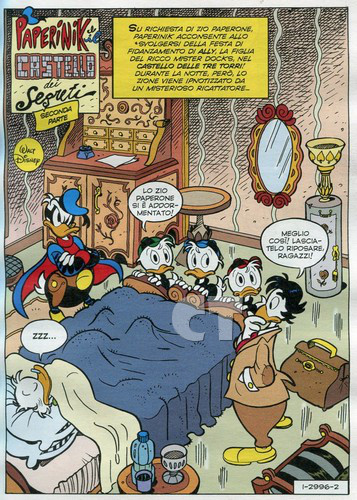 TOPOLINO 2996 INSIDE 2 CT
