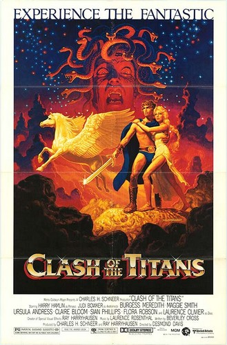 CLASH OF THE TITANS(1981) FILM POSTER