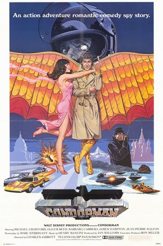CONDORMAN(1981) FILM POSTER