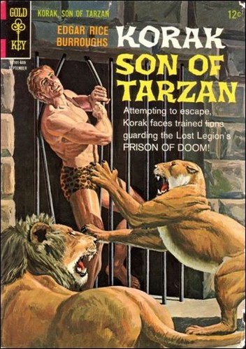 KORAK SON OF TARZAN GOLD KEY 14