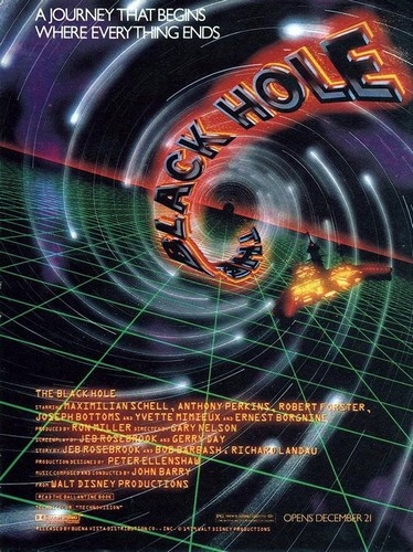 THE BLACK HOLE(1979) FILM POSTER