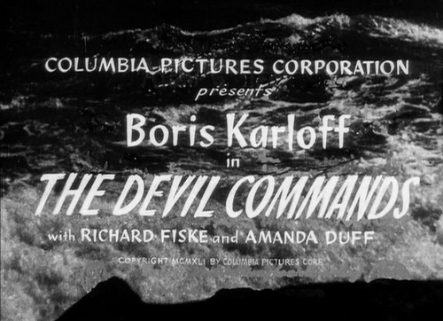 THE DEVIL COMMANDS (1)