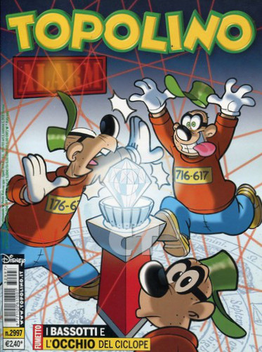 TOPOLINO 2997 COVER CT