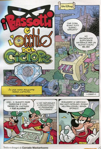 TOPOLINO 2997 INSIDE 1 CT