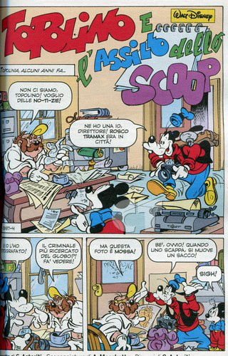 TOPOLINO 2997 INSIDE 6 CT