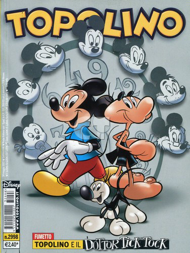 TOPOLINO 2998 COVER CT