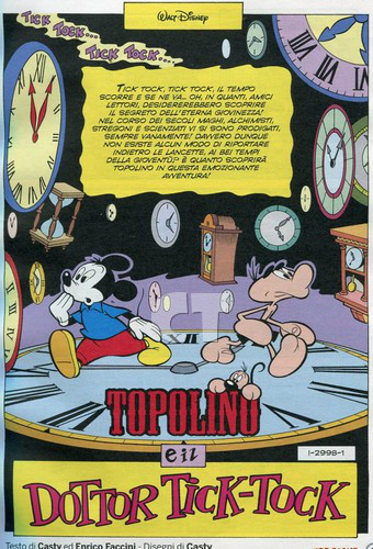 TOPOLINO 2998 INSIDE 1 CT