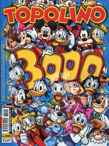 TOPOLINO 3000 COVER ct
