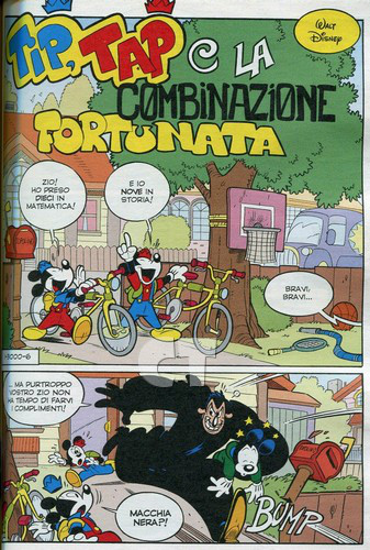 TOPOLINO 3000 INSIDE 9 ct