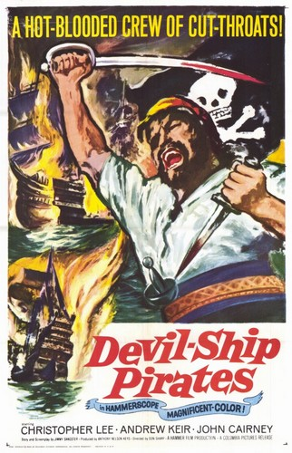 THE DEVIL SHIP PIRATES FILM POSTER 1