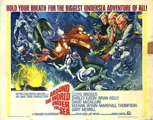 AROUND THE WORLD UNDER THE SEA 1966