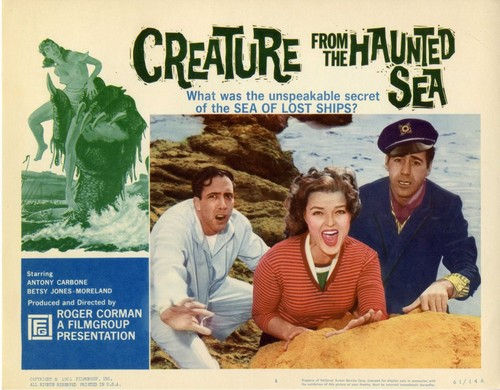 CREATURE FROM HAUNTED SEA 1961 - 2
