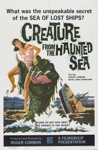 CREATURE FROM HAUNTED SEA 1961