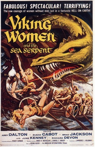 VIKING WOMEN & THE SEA SERPENT 1957