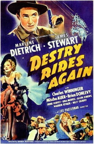 DESTRY RIDES AGAIN FILM POSTER 1