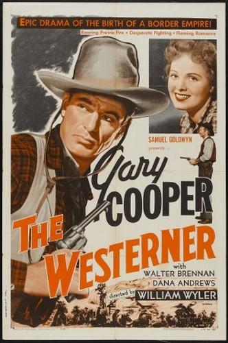 THE WESTERNER FILM POSTER 2