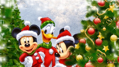 DISNEY XMAS WALLPAPER