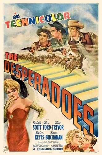 THE DESPERADOS FILM POSTER 4