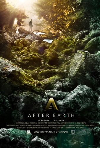 AFTER EARTH FILM POSTER