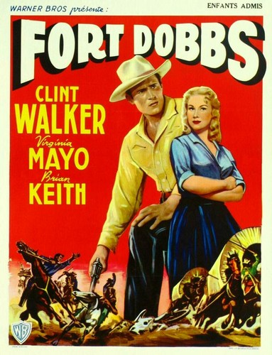 FORT DOBBS FILM POSTER 4