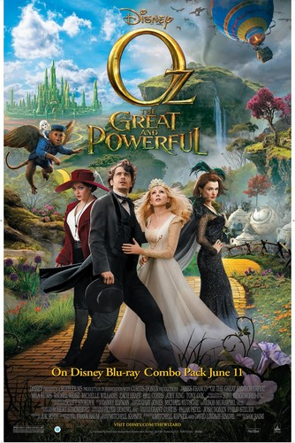 OZ THE GREAT & POWERFUL FILM POSTER