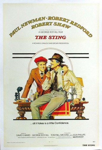 THE STING FILM POSTER
