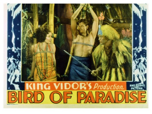 BIRD OF PARADISE FILM POSTER 1