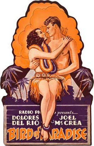 BIRD OF PARADISE FILM POSTER 6
