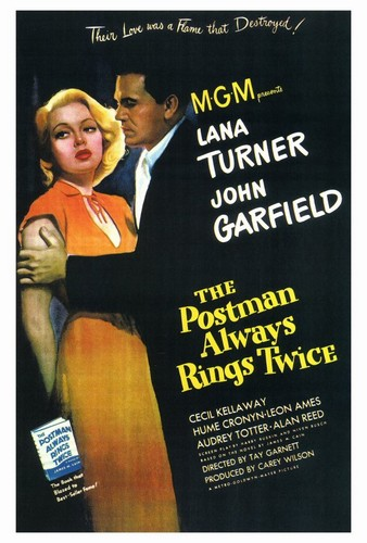 THE POSTMAN ALEAYS RINGS TWICE FILM POSTER