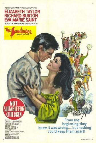 THE SANDPIPER FILM POSTER